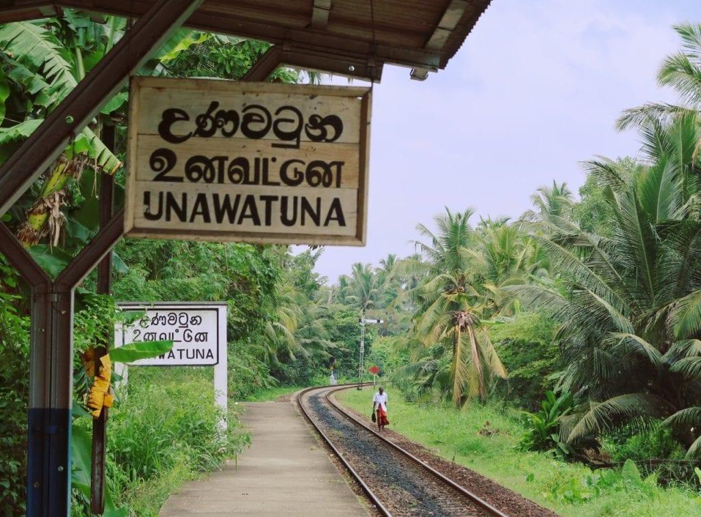 Sri Lankaˋs Südküste