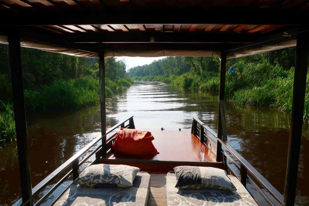 Borneo: 3 Nächte und 4 Tage auf dem Klotok
