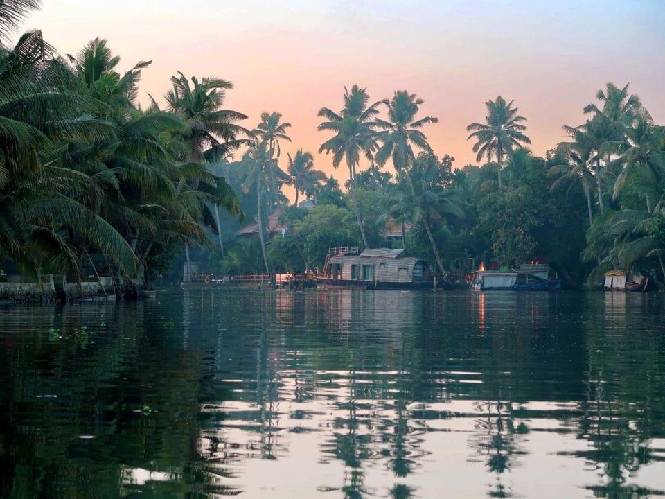 Indien Backwaters Alleppey