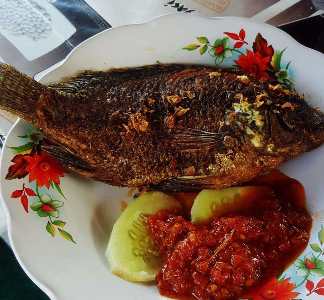 Fisch zum Frühstück