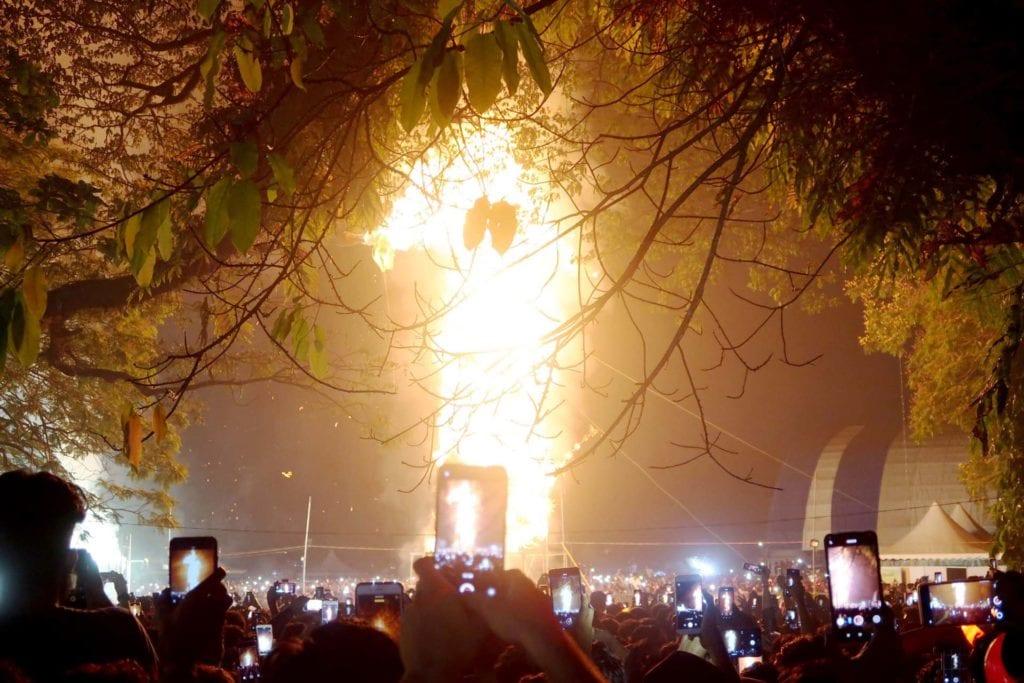 Kochi Indien: das größte Silvesterfest in Indien