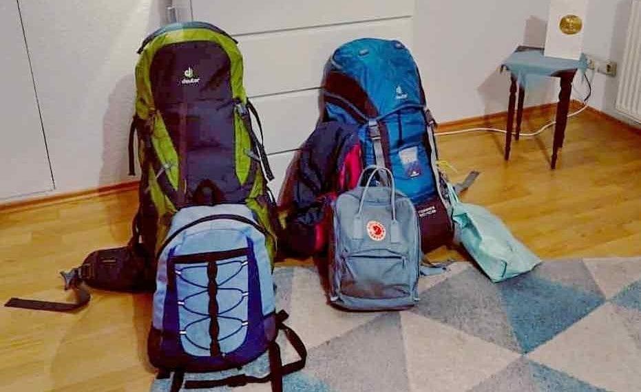 Reisevorbereitung Packliste Backpacker Rucksack