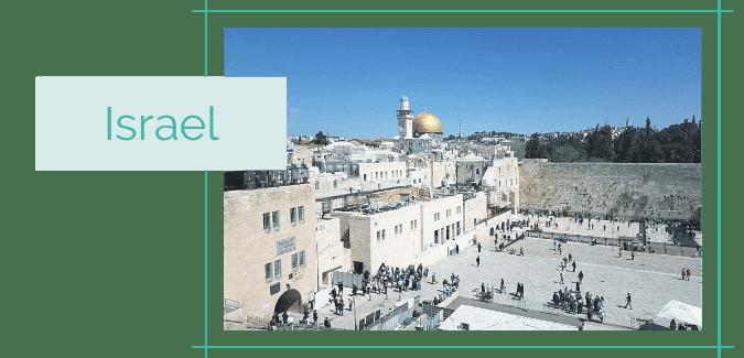 Reiseblog Reiseziele Asien Israel